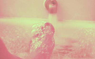 Uncompromising Self-Care & Waning Moon Bubble Bath Playlist