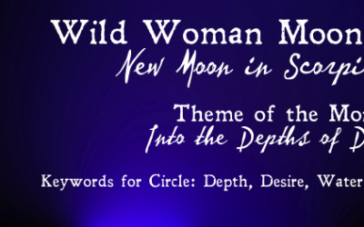 Into the Depths: The New Moon (Inquiry, Playlist, Herbal Bath & more)