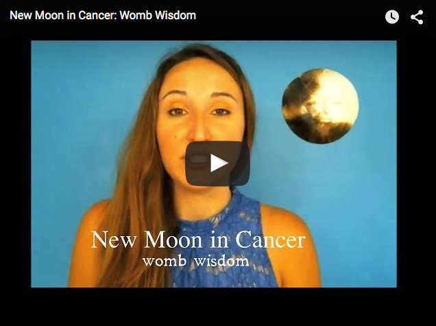 New Moon in Cancer: Womb Wisdom