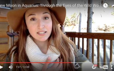 Through the Eyes of the Wild Woman: New Moon in Aquarius