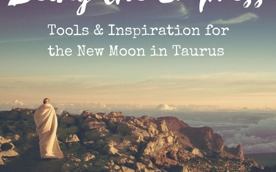 Being the Empress: Tools & Inspiration for the New Moon in Taurus
