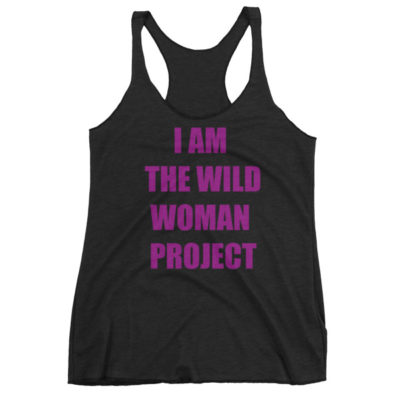 I Am The Wild Woman Project Black Tank