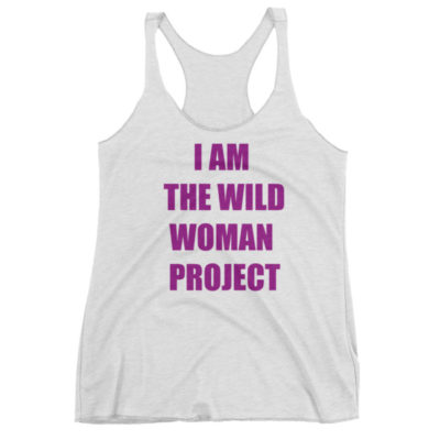 I am the Wild Woman Project Heather White Tank